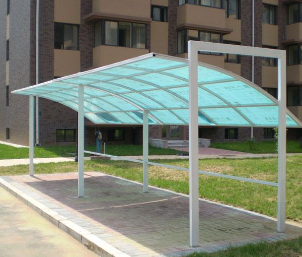 阳光雨棚三